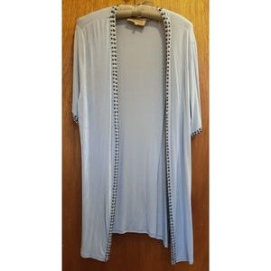 Double D ranch studded duster size Large